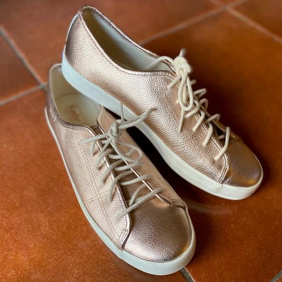Keds | DreamFoam rose gold metallic sneakers